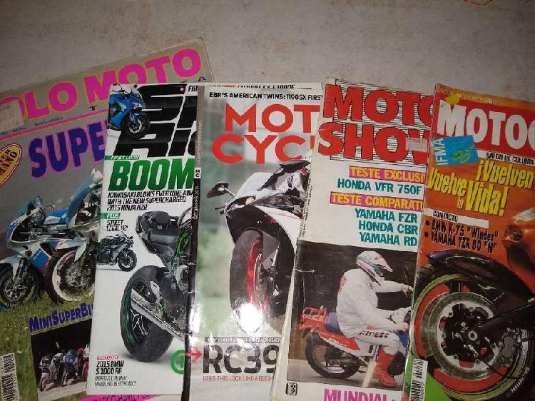 Revista lote(5)motor cyclist-motociclism-moto show-solomoto