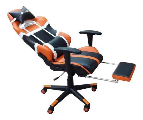 Silla gamer okvision lo mejor 814 negro/naranja envio gratis