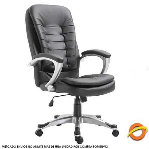 Silla oficina sillon ejecutivo gerencial ruedas escritorio