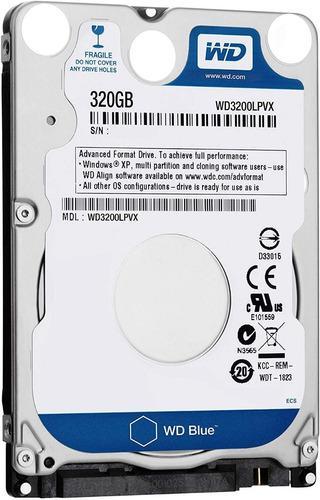 Discos rigidos 320 gb slim (7mm) notebook,netbook outlet