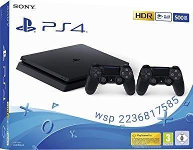 Playstation 4 slim 500gb + 2 joystick + 2 juegos ps4 oferta