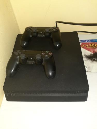Ps4 playstation 4 slim joysticks competisima con juegos