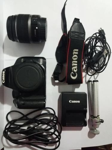 Cámara canon eos 450d usada