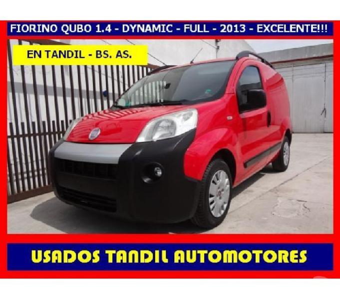 Fiat fiorino qubo 1.4 cgnc - 2013 - como nueva!