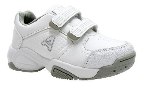 Zapatilla escolar blanca addnice beta bebé rc deportes