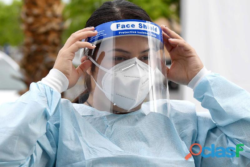 Mascara facial protectora x 150 unidades promo