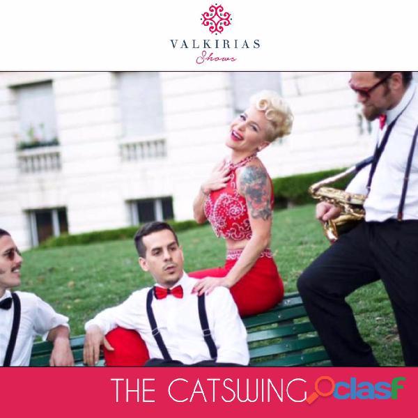 Show para eventos the catswing   by valkirias shows
