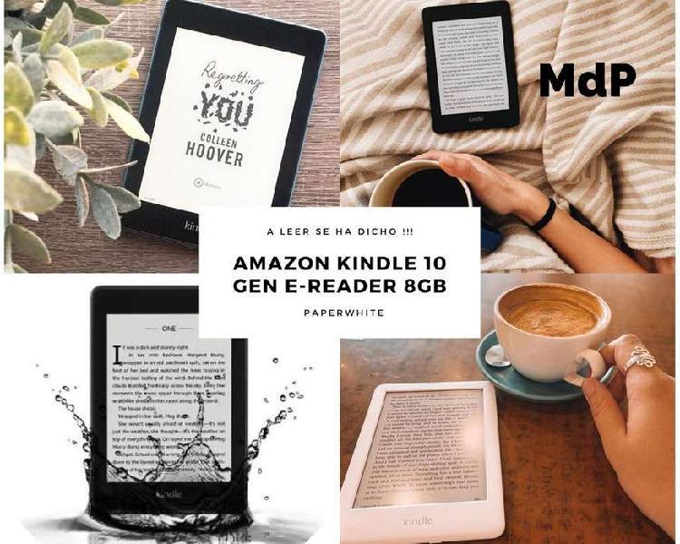 Amazon kindle paperwhite 10ma generacion 8 gb wifi y luz