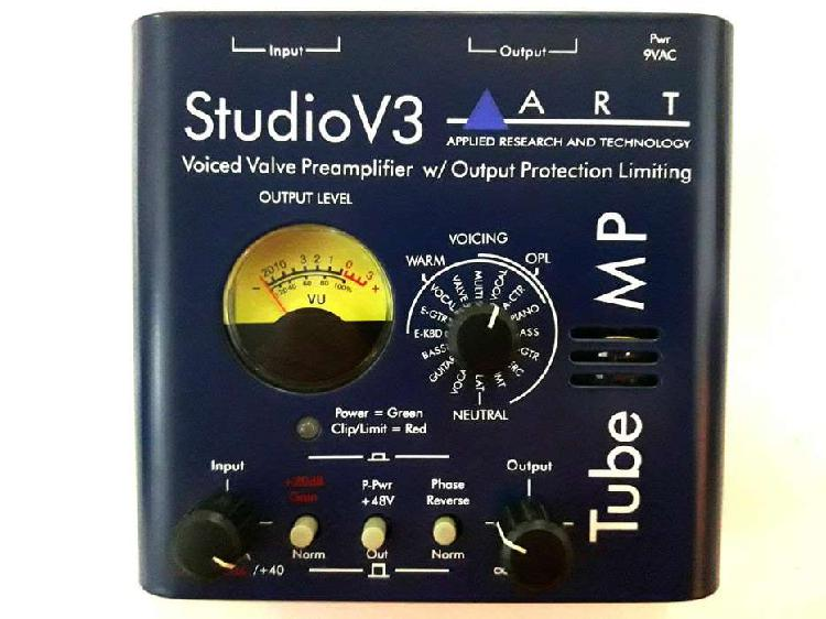 Art studio v3 preamplificador valvular