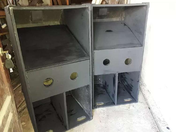 Cajas de graves folded 18 pulgadas con woofers