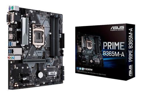 Motherboard asus prime b365m-a 1151 ddr4 intel xellers