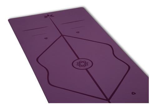 Yoga mat sukha caucho + poliuretano eco 5mm alineación