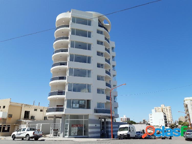 Semipiso a la venta a estrenar con vista al mar de 2 dormitorios en av argentina y patagonia, a metros del mar y de la peatonal!!