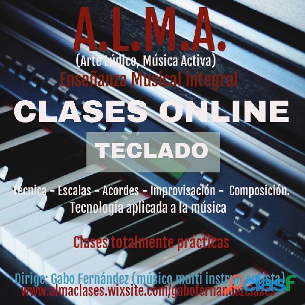 Clases online de Teclado