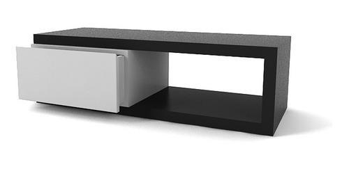 Mesa tv bajo plasma lcd laqueado c/cajon 1.00x0.40x0.30