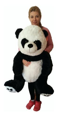 Oso panda de peluche importado grande 1,20mts, extrema calid