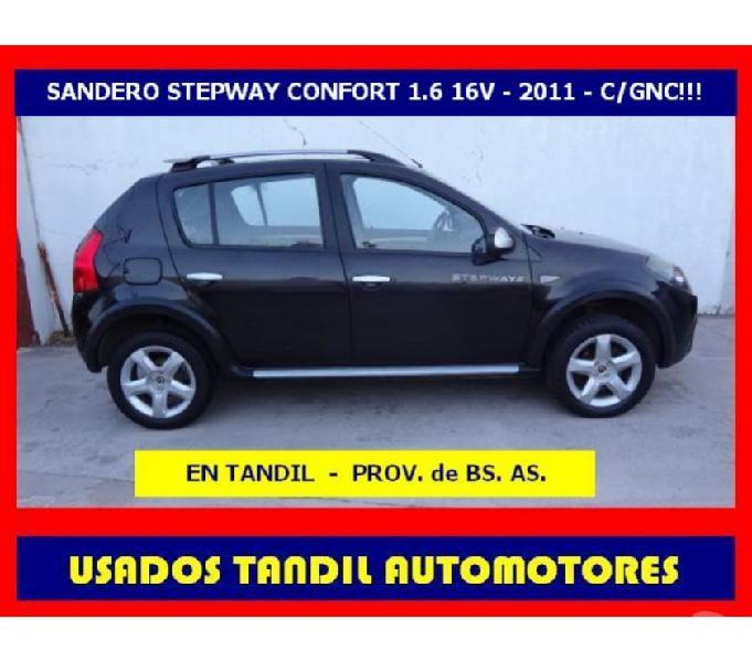 Renault sandero stepway confort 1.6 - mod 2011 - cgnc!!!