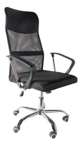 Silla escritorio oficina pc ergonomica respaldo alto