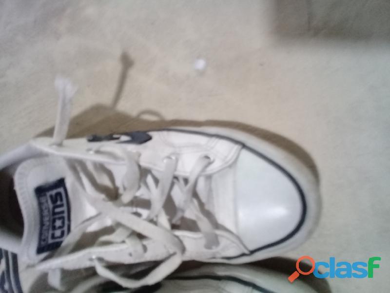 Zapatillas converse usada talle 37,5