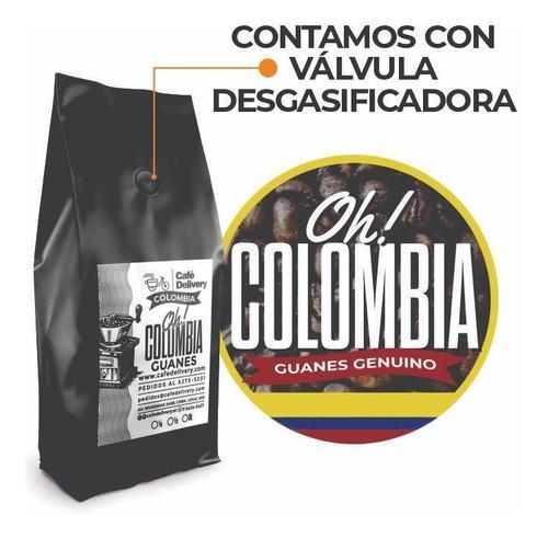 Cafe colombiano guanes genuino x kilo con envío al
