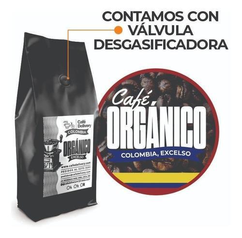 Cafe excelso organico colombia por kilo envio gratis en caba