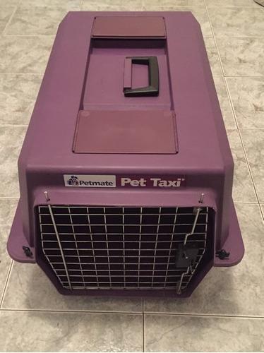 Caja canil de transporte perro y gato