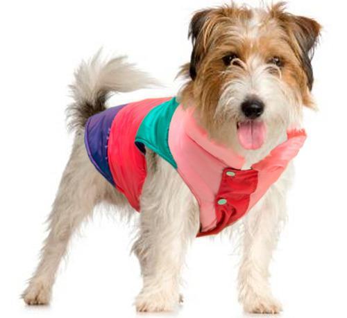 Chaleco inflado perros. de abrigo o impermeable. t4