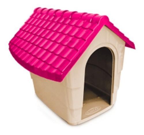Cucha casa plástica rigida para perros extra grande nº 4