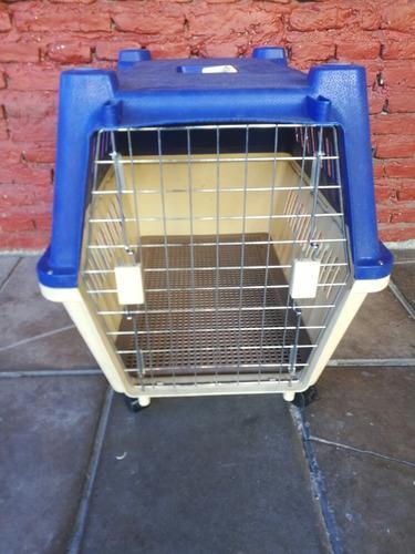 Cucha perros caja transportadora 80x57x65 excelente!!