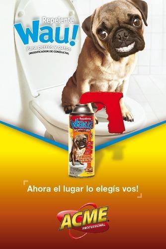 Repelente aerosol para perros y gatos
