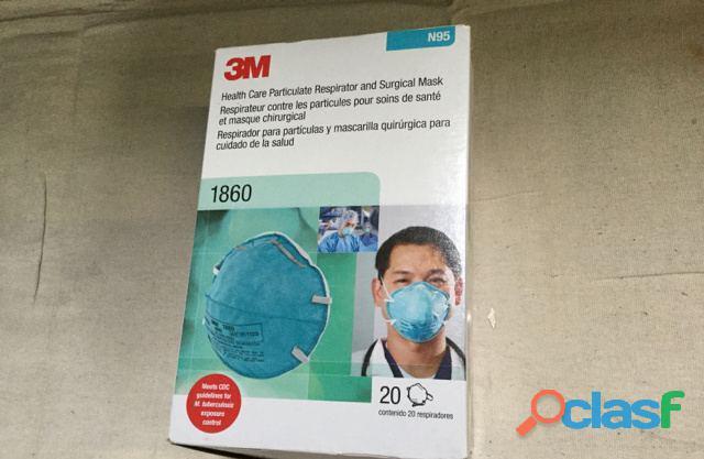Tenemos 3m n95 y earloop triple layer filtration face masks desinfectantes para manos somos proveedo