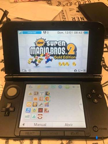 Nintendo 3ds xl flash 20 juegos cargados