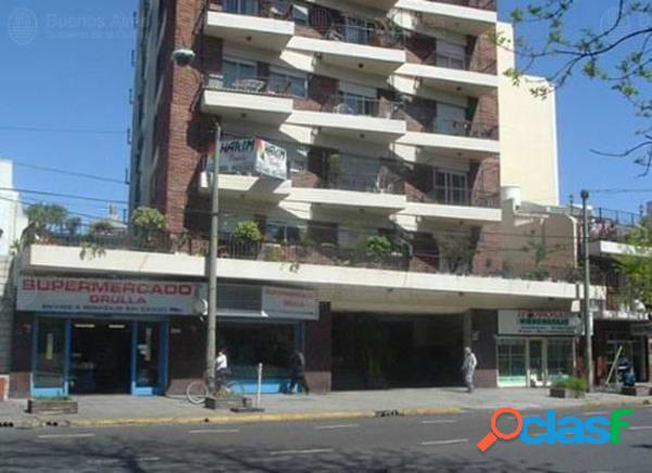 Villa urquiza - dpto 3amb c/cochera - u$s140.000
