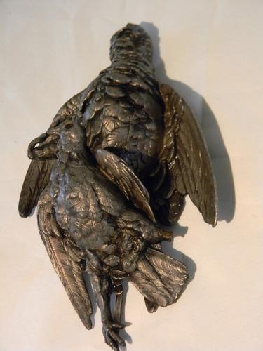 A restaurar petit bronce alcón con paloma envíos