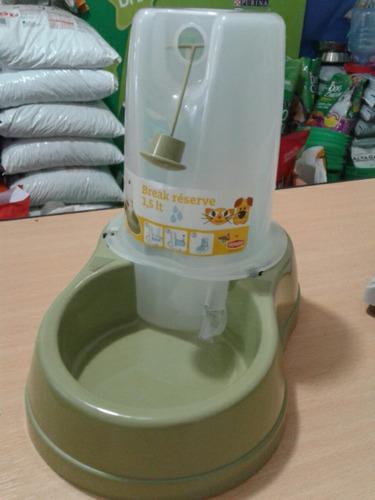 Bebedero automatico para mascotas 1,5 litro
