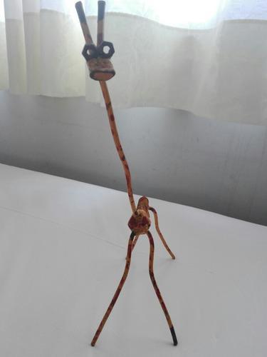 Escultura jirafa carlos regazzoni original