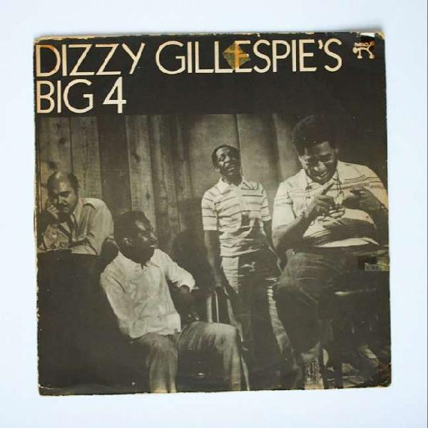 Disco vinilo lp dizzy gillespie's big 4 jazz