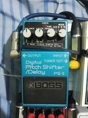 Pedal boss digital pitch shifter delay ps2 permuto x reverb
