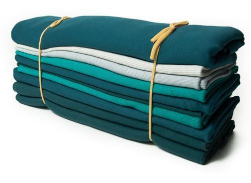 Retazos tela ribb combo 3 kilos colores puños / artesanías