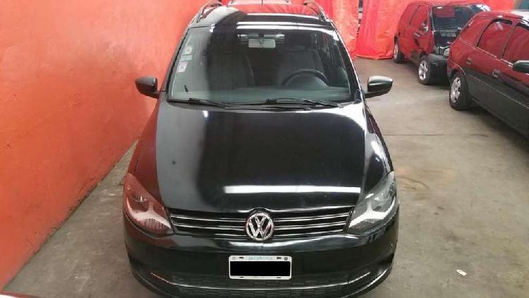 Volkswagen suran 2012 gnc full anticipo y cuotas