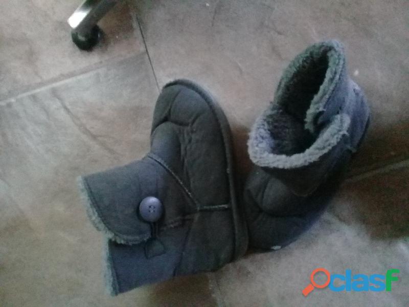 bota de vestir gris talle 31 1