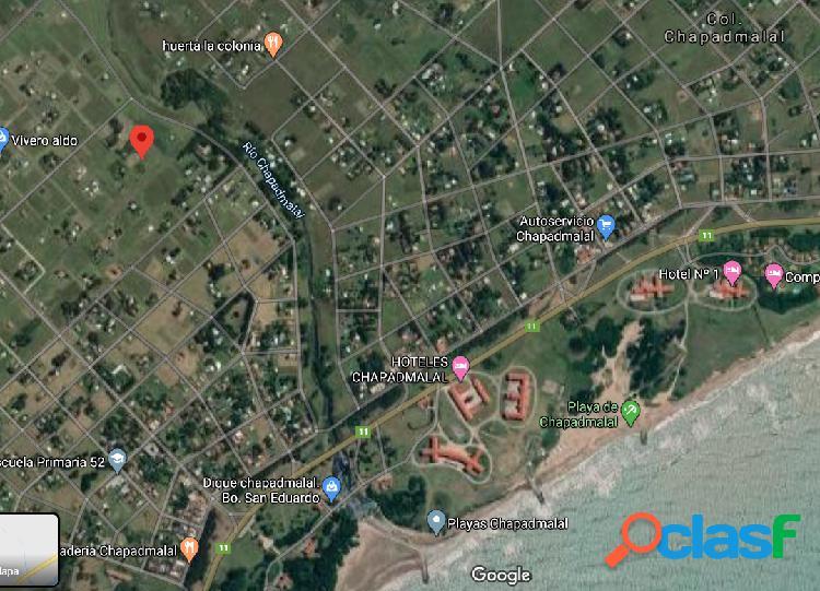 Lote ubicado en colonia de chapadmalal. gral. pueyrredon.