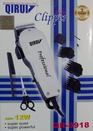 Maquina cortadora de pelo qirui 12w qr-8918 super perro