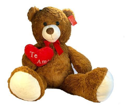 Peluche perro gigante oso corazon te amo 1 metro grande