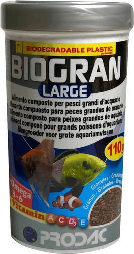 Alimento prodac biogran large 110g peces grandes acuarios