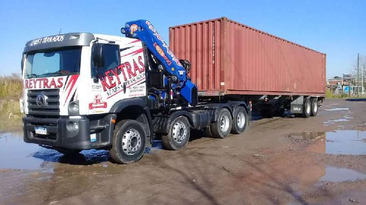 Alquiler de camiones con hidrogruas hasta 50 tonelametros