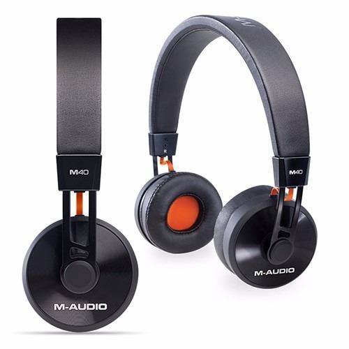 Auriculares m-audio m40 profesionales monitoreo estudio dj