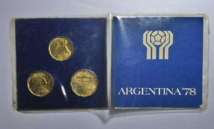 Blister monedas mundial 1978