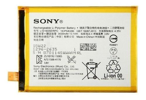 Batería sony z5 premium lis1605erpc e6883 e6853 belgrano