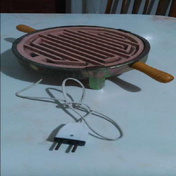 Calentador electrico de mesa 22 cm de diametro 1500w